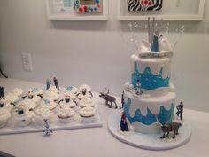 Frozen Theme CAke - Cake by Irene Selby - Frozen Wedding, Frozen Theme Cake, Themed Cakes, Irene, Fondant, Party Ideas, Birthday, Disney, Desserts