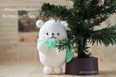 polar bear amigurumi pattern