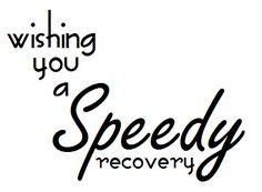Wishing You A Speedy Recovery-desert diva