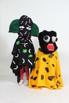 Creatures of the Wild World costumes by Super Groupe. Textiles, Fancy Dress, Dress Up, Design Textile, Art Costume, Looks Cool, Costume Design, Puppets, Wearable Art