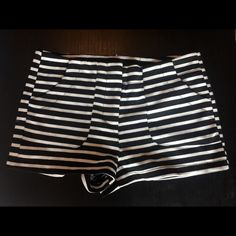 Poetry striped shorts Poetry striped shorts in size small! Great condition- only worn once or twice Shorts