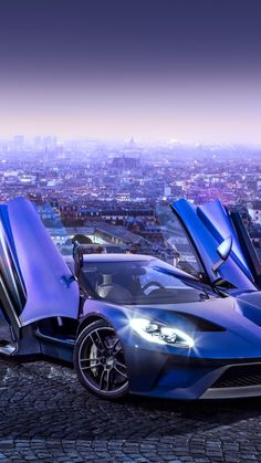 Ford GT, supercar, concept, blue, sports car, luxury cars, test drive