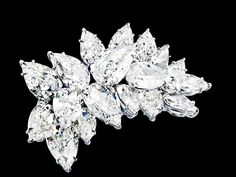 A diamond-encrusted brooch owned by Lev Leviev - one of the pieces stolen in the $152 million Cannes heist.