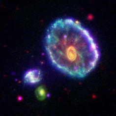 The Cartwheel galaxy. Credit: NASA/JPL-Caltech