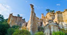 Admirez les orgues d'Ille-sur-Têt, ces tours de roche françaises que la nature a forgées au fil du temps | SooCurious