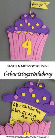 Here's a simple step by step guide to great colorful casket cards or birthday cards. Very neutral birthday cards for girls and boys. Invitations for the girl birthday unicorn party, birthday party Girl Birthday Cards, Birthday Treats, Birthday Gifts, Diy Gifts For Kids, Diy For Kids, Diy Birthday Invitations, Unicorn Party, Party Recipes, Workout Routines