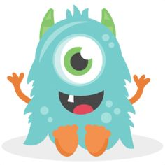 Baby Monster: Miss Kate Cuttables-- SVG scrapbook cut file cute clipart files for silhouette cricut pazzles free svgs free svg cuts cute cut files Cartoon Monsters, Cute Monsters, Monsters Inc, Little Monsters, Doodle Monster, Monster Drawing, Monster Art, Monster 1st Birthdays, Monster Birthday Parties