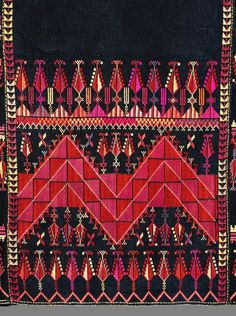 Palestinian traditional embroidery