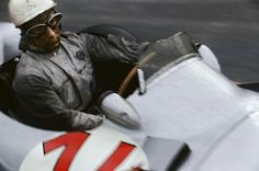 1955 Belgian GP, Spa : Stirling Moss, Mercedes-Benz W196 #14, Daimler Benz AG, 2nd. (ph: © J. Alexander)