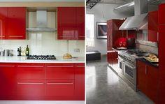 Cocina roja -Ideas para decorar tu hogar en Habitissimo