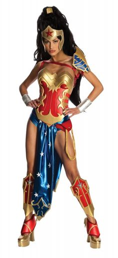 Find great deals on costumes accessories and party supplies like the Anime Sexy Wonder Woman Womens Costume - Adult Costumes at Official Superhero ...  sc 1 st  Pinterest & 15 best Female Superhero Costumes images on Pinterest | Adult ...