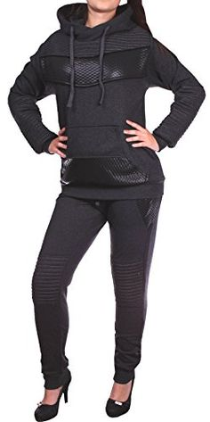 awesome Damen Jogging-Anzug | Leder Anzug 610 (XL-fällt groß aus, Anthrazit) Check more at https://designermode.ml/shop/77028031-bekleidung/damen-jogging-anzug-leder-anzug-610-xl-faellt-gross-aus-anthrazit/