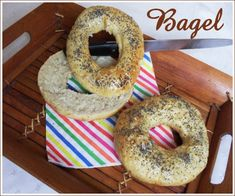 bagel  3.5 pts pour 8 parts