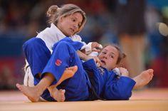 Telma Monteiro nas meias-finais do Mundial de judo