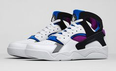 "brand new fccb0 61395 Nike Air Flight Huarache OG ""Bold Berry"" - Air 23 - Air Jordan Release  Dates, Foamposite, Air Max, and"