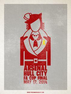 Arsenal vs Hull City / FA Cup final / Josh Combs