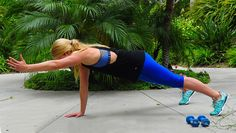 Improve your core strength and stability with this forearm plank move. More advanced? Add in some arm reaches.