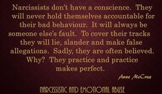 Narcissists and Emotional Abusers are masters of blaming other for their own abusive behaviour