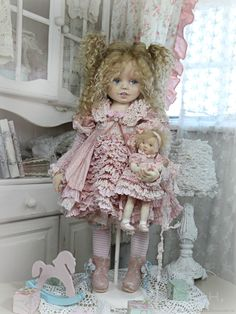 Doll Making Tutorials, Doll Maker, Doll Clothes, Harajuku, Teddy Bear, Textiles, Dolls, Photo And Video, My Favorite Things