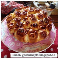 Frisch geschlüpft: Himbeer-Rosenkuchen