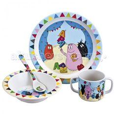 Petit Jour Набор детской посуды Barbapapa  — 2759р. ------------  Petit Jour Набор детской посуды Barbapapa в подарочной упаковке. Ваш малыш будет кушать с удовольствием!   Особенности: набор изготовлен из гипоаллергенного материала 0% фталатов и BPA (бифенол А) на дне тарелки есть веселый рисунок, для того, чтобы ее разглядеть, нужно опустошить тарелку тарелка с нескользящим дном и широкими краями, что обеспечивает ее устойчивость и непроливание пищи глубокая ложечка удобная ручка у ложки…