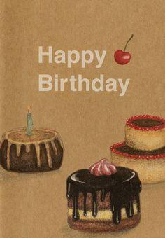 #Birthday #Card Free Printable - Happy Birthday