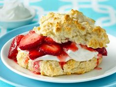 Strawberry Shortcake Recipe from Bisquick!  Made these this morning.  SUPER quick and easy.  Outrageously delicious!!!