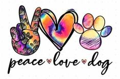 Peace Love Dogs, Peace And Love, Bow Image, Gifts For My Girlfriend, Diy Tumblers, Vinyl Quotes, Pretty Wallpapers, Personalized T Shirts, Silhouette Design