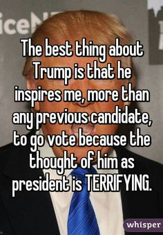 I am voting for GARY JOHNSON. I think he's the best ( and least known) candidate. He isn't exciting enough to draw big ratings, so he's not making the news. Exactly who I want as the president. Caricatures, Whisper Confessions, Whisper App, That Way, Inspire Me, Just In Case, I Laughed, Donald Trump, Presidents