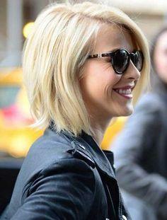 Julianne Hough Straight Hairstyles