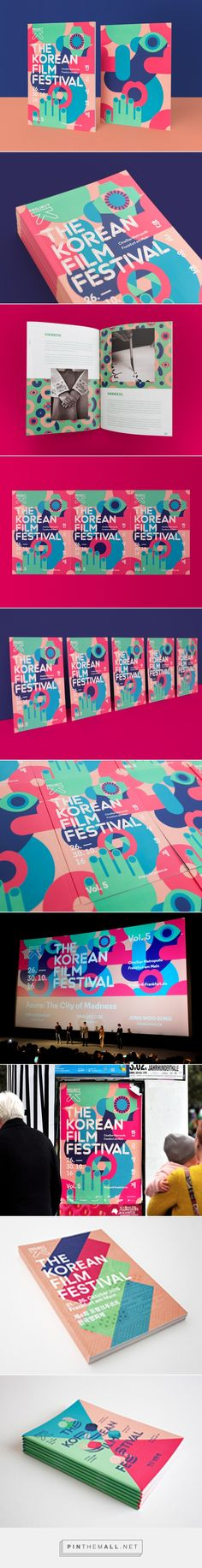 Project K – The Korean Film Festival 2016 on Behance... - a grouped images picture - Pin Them All