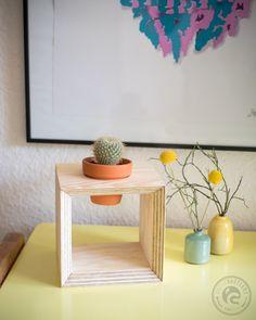 Wenn man seinem Kaktus mal was richtig Gutes gönnen möchte, bietet sich dieser schöne Topfquader an. Und der ist schnell gemacht … Man nehme 15mm Kiefer Sperrholz und schneide sich 4 Stücke à…