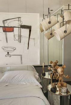 Apartamento Maximiliano Crovato (Foto: Romulo Fialdini/ divulgação )