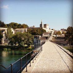 Sur le pont. D'#Avignon.