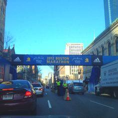 Boston marathon next Monday. I am reaching the end goal now!