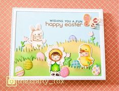 Featured Fawny Friday {4.2.21} Easter Edition - Lawn Fawn Easter Projects, Crafty Projects, Rancho Santa Margarita, Lawn Fawn Blog, Lawn Fawn Stamps, Christian Cards, Easter Party, Happy Easter, Winnie The Pooh