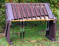 Soundplay - Outdoor Musical Instruments - Amadindas / Kids played this at park today and I HAVE to get one for my backyard!  (Ok, I admit I played it too)