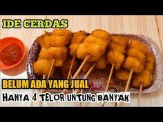 Street Food Business, Food Business Ideas, Bisnis Ideas, School Snacks, School Kids, Indonesian Food, Cheap Meals, Egg Rolls, Food And Drink