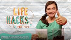 Visit Epic to watch Cool Stuff From Parents' Throwaways I LIFE HACKS FOR KIDS and discover more amazing learning videos for kids. Straw Hacks, Balloon Hacks, Rainy Day Games, Hack My Life, Decoden Phone Case, Summer Boredom, Life Hackers, National Geographic Kids, Best Children Books