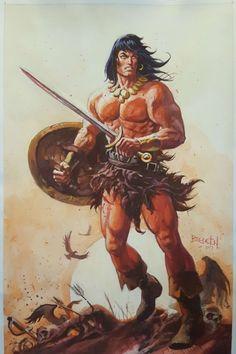 Conan by Dan Brereton