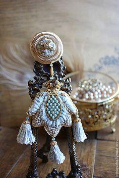 Irena Gasha - Брошь B15004. Handmade.