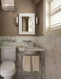 Inspiration for a small bathroom