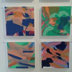 Women in Abstract Show at Hidell Brooks Gallery | The English Room |Selena Beaudry