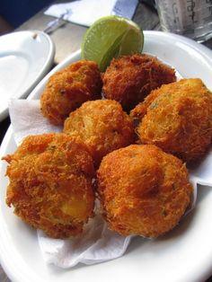 portuguese codfish balls (bolinhos de bacalhau)