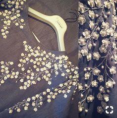 Sequin & bead flowers