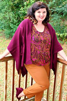 Hems for Her Trendy Plus Size Fashion for Women: Comin' Up Katie