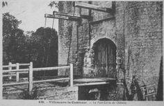 """24- château de Villeneuve la Comtesse. - § VILLENEUVE LA CTESSE:.. A cette époque Villeneuve appartenait à François de La Laurencie, à qui Henri III écrivit pour le féliciter d'avoir conservé le château et empêché qu'il retomba aux mains des Ligueurs. Or il existe aux Archives nationales, une pièce """"don par le roi Louis XII de la terre et seigneurie de Villeneuve, près Chizé, à la Comtesse Louise de Savoie, fait à Bloys le 8° jour de mars 1498; cette terre avait été vendue et engagée ....."""