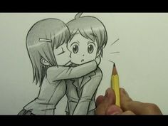 How to Draw a Chibi Kiss On the Cheek! Soooo drawing this for Jay and Nya ^0^