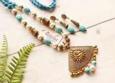 Queen Bees, Handmade Jewellery, Ganesha, Fashion Necklace, Necklace Set, Ethnic, Elegant, Antiques, Bracelets