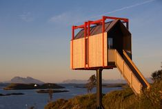 Photo 4 of 12 in Grab Your Friends and Escape to a Remote Cabin Cluster on a Norwegian Island - Dwell